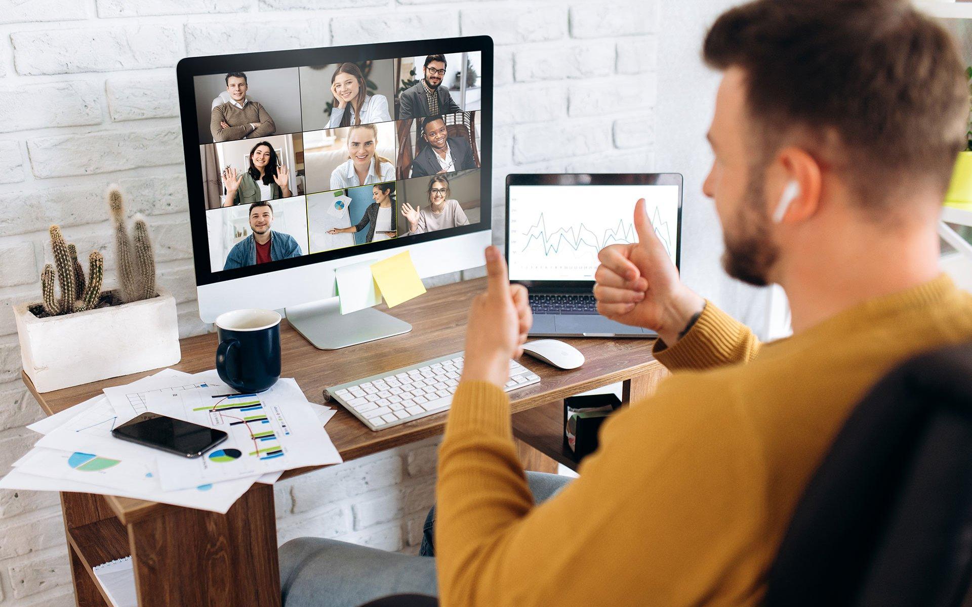Home Office / Nextcloud Talk